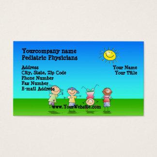 Miúdos que jogam fora, cartões de visitas do dia