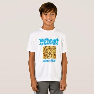 """Miúdos """"ruja como que camisa de um leão"""""""