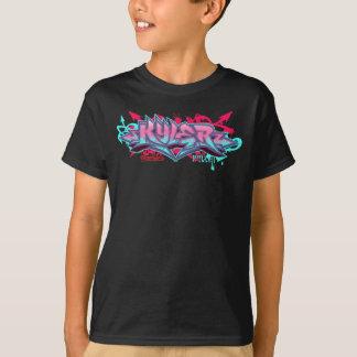 Miúdos Streetwear: Grafites de Kyler Camiseta