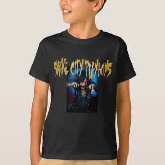 Miúdos T dos playboys da cidade do cobra da birra Camiseta