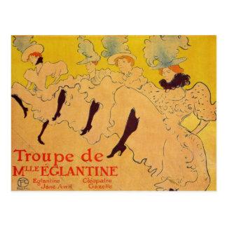 Mlles Eglantines 2 por Toulouse-Lautrec Cartão Postal