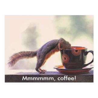 Mmmmmm, café! cartão postal