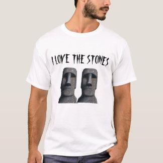Moai em uma camisa