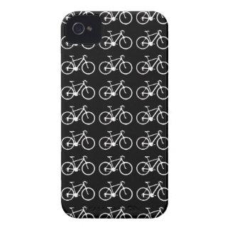 modelação preto e branco das bicicletas capa para iPhone 4 Case-Mate