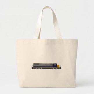 modelo 3D: Motor do trem: Estrada de ferro: Bolsa Para Compras