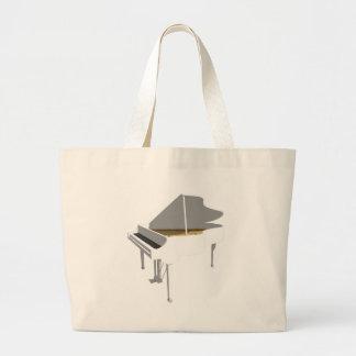 modelo 3D: Piano de cauda branco: Bolsa De Lona