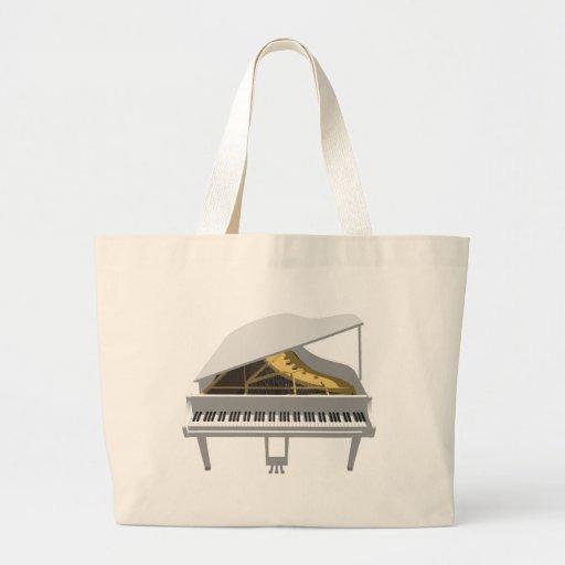 modelo 3D: Piano de cauda branco: Bolsa Para Compra