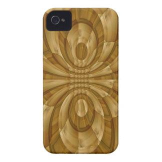 Modelo abstrato moderno capa para iPhone 4 Case-Mate