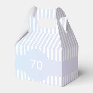 Modelo azul e cor-de-rosa das listras caixinha