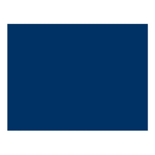 modelo azul escuro do fundo da cor s lida 003366 cart o postal zazzle. Black Bedroom Furniture Sets. Home Design Ideas