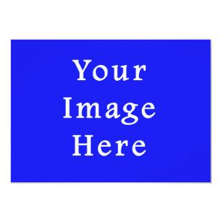 Modelo azul saturado de Hanukkah Chanukah Hanukah Convite Personalizado