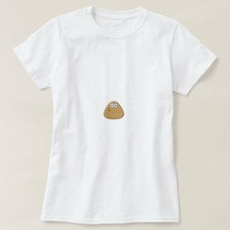 Modelo básico do t-shirt das senhoras -