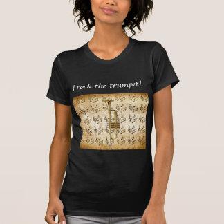 Modelo básico escuro do t-shirt das senhoras - per