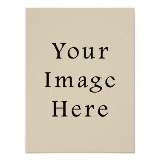 Modelo bege do vazio da tendência da cor da amêndo impressão de foto