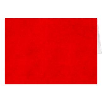 Modelo brilhante vermelho da cor do pergaminho do  cartão de nota