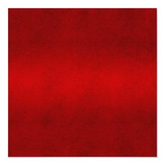 Modelo carmesim vermelho da cor do pergaminho do convite quadrado 13.35 x 13.35cm