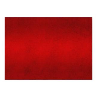 Modelo carmesim vermelho da cor do pergaminho do convite personalizado