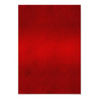 Modelo carmesim vermelho da cor do pergaminho do convite 8.89 x 12.7cm