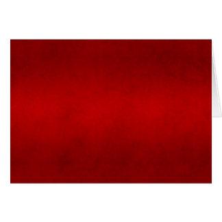 Modelo carmesim vermelho da cor do pergaminho do N Cartões
