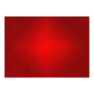 Modelo carmesim vermelho do papel de pergaminho do convite 11.30 x 15.87cm