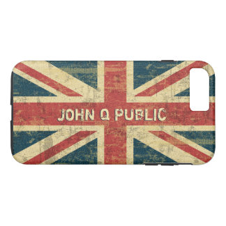 Modelo conhecido de Union Jack Capa iPhone 7 Plus