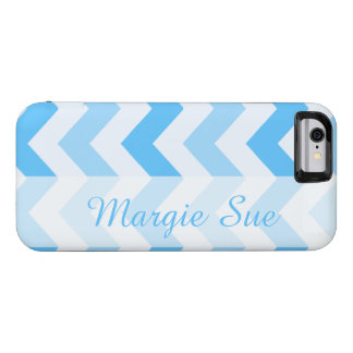 Modelo conhecido feito sob encomenda azul de capa para iPhone 6