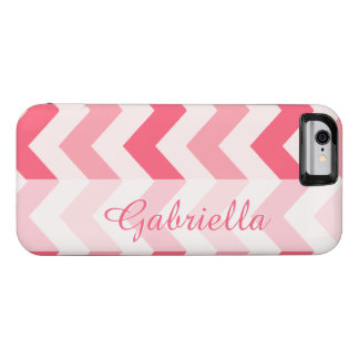 Modelo conhecido feito sob encomenda cor-de-rosa capa para iPhone 6