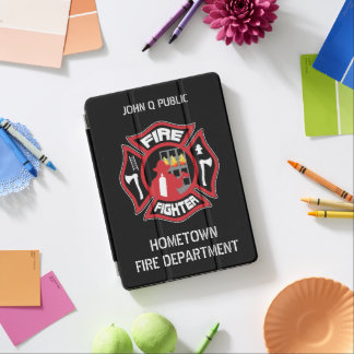 Modelo conhecido moderno do sapador-bombeiro capa para iPad pro