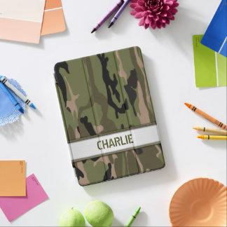 Modelo conhecido verde militar de Camo Capa Para iPad Pro