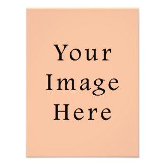 Modelo cor-de-rosa bege Peachy da tendência da cor Impressão De Foto