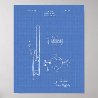 Modelo da arte da patente do acessório 1927 do pôster