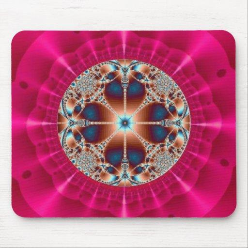 Modelo da foto da jóia mouse pad