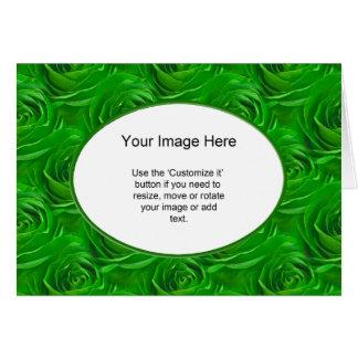 Modelo da foto - papel de parede esmeralda do rosa cartao