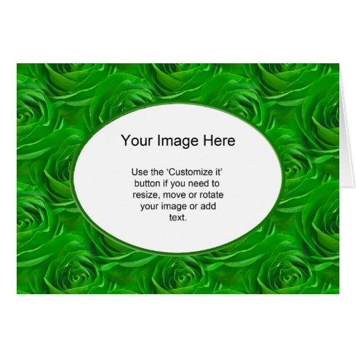 Modelo da foto - papel de parede esmeralda do rosa cartão