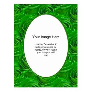 Modelo da foto - papel de parede esmeralda do rosa cartão postal
