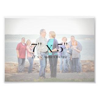 MODELO das fotos de família 7x5
