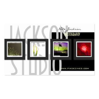 Modelo das fotos dos cartões de visitas da carteir