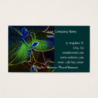 Modelo de cartão de negócios abstrato de Anthura