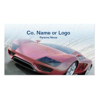 Modelo de cartão de negócios automotriz do mecânic cartao de visita