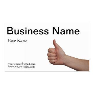Modelo de cartão de negócios cartões de visitas