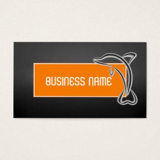 Modelo de cartão de negócios chique moderno