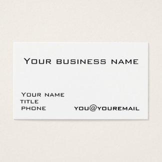Modelo de cartão de negócios com ícones sociais