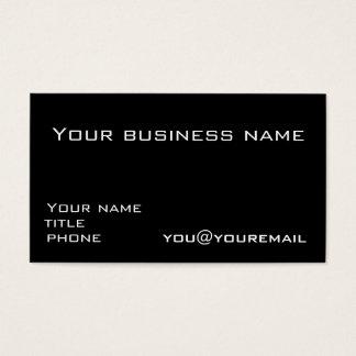 Modelo de cartão de negócios com ícones sociais 2