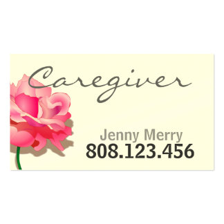 Modelo de cartão de negócios cor-de-rosa simples d modelos cartões de visitas