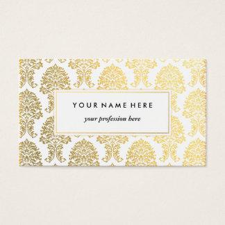 Modelo de cartão de negócios da cor damasco do
