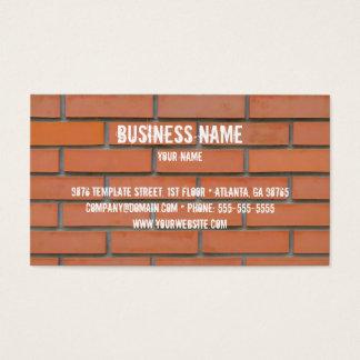 Modelo de cartão de negócios da indústria da