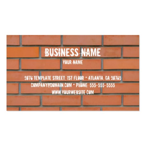 Modelo de cartão de negócios da indústria da const modelos cartoes de visita