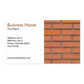 Modelo de cartão de negócios da indústria da const cartão de visita