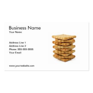 Modelo de cartão de negócios da loja de doces cartões de visitas