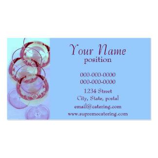 modelo de cartão de negócios de abastecimento dos  cartão de visita